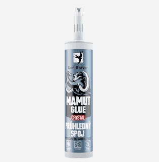 Lepidlo Den Braven MAMUT GLUE Crystal 290 ml